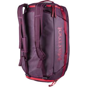 Marmot Long Hauler Duffel Bag Medium, dark purple/brick